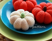 Crochet Pattern - Crochet Pumpkins (Pattern No. 004) - INSTANT DIGITAL DOWNLOAD