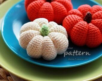 Crochet Pattern - Crochet Pumpkins (Pattern No. 004) - INSTANT DIGITAL DOWNLOAD