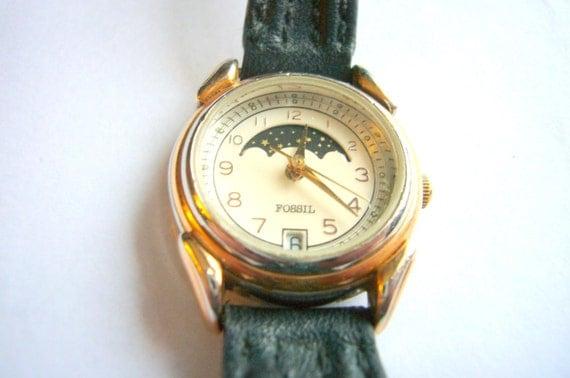 vintage fossil watches women eBay