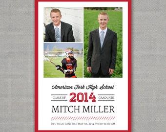 Graduation Announcement // High School