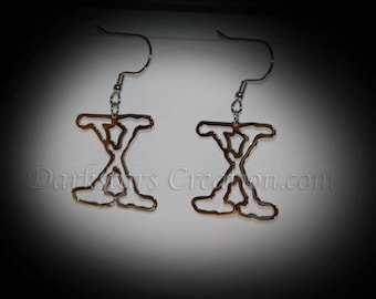 Awesome X-Files Earrings!