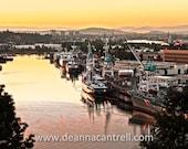 16x24 Canvas Swan Island Sunrise, Portland, Oregon Photography