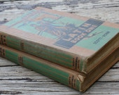 Vintage 1930s Latin Book Lot Vol. 1 & 2
