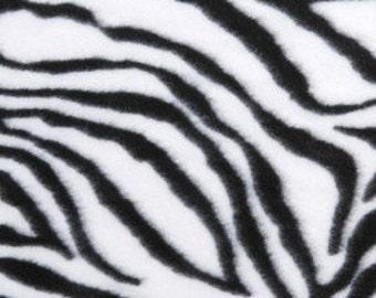 Zebra Fitted Sheet Infant PacknPlay Sheet PlayYard Sheets Handmade Fleece Bedding for Babies Shower Gift