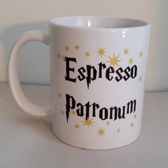 Espresso Patronum Magical Coffee Mug by MySchatzilein on Etsy