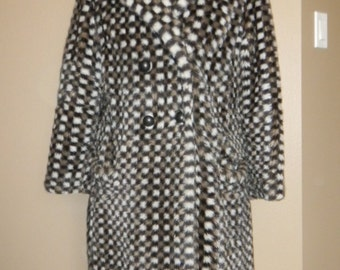 VINTAGE BETTY ROSS leopard coat