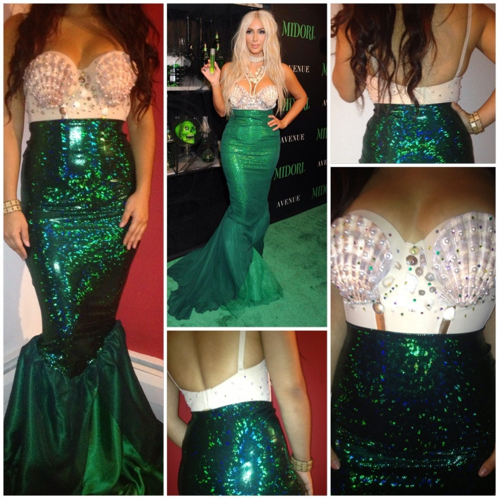 Kim K mermaid costume