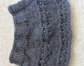 Knit wool  cowl/neck warmer.