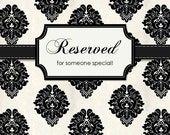 Reserved for Lydia, thank you :)