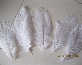 WHOLESALE DISCOUNT 180pcs 12-14inch ostrich feather for Wedding Table centerpieces,white ostrich feathers,ostrich centerpieces,centerpiece