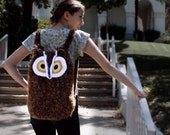 Private Listing for Walter: Medium Wise Owl Backpack with Lining in Brown