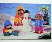 Vintage Cabbage Patch Kids 100 Piece Jigsaw Puzzle 1984