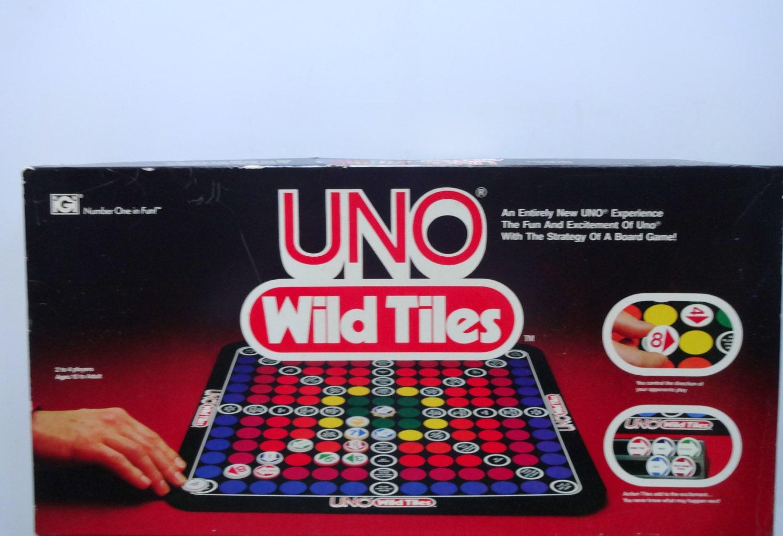 Gioco da tavolo piastrelle selvatici uno vintage uno gioco