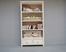 Dollhouse sewing cabinet