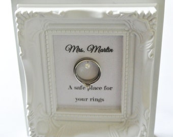 Frame Ring holder with personalization