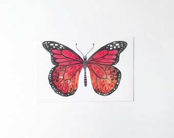 Butterfly No.1 - postcard