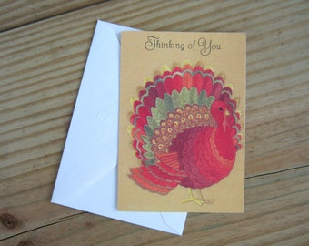 Vintage Hallmark Thanksgiving cards
