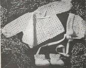 Crochet Pattern Crochet Baby Sweater Pattern Instant Download