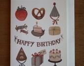 Card- Birthday Things
