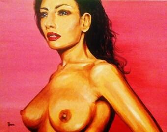 Rosalie - an original painting