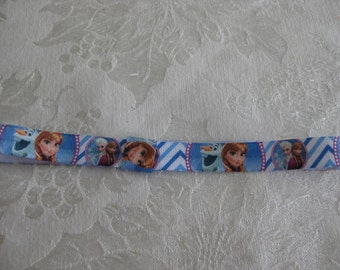FROZEN FOE headband. Printed headband your choice size Fits newborn to adult the Characters