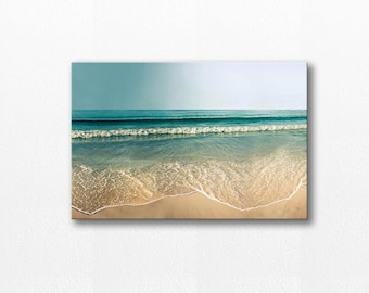 beach canvas art ocean canvas wall art beach photography canvas print ocean gallery wrap nautical decor fine art photography canvas coastal