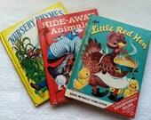 A Trio of 1940's and 50's Children's Books