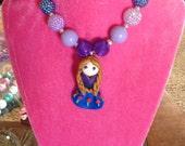 Bubblegum Frozen Necklace