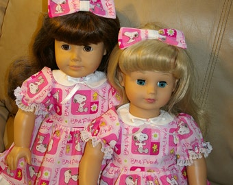 2 Best Friends dresses for 18 inch dolls