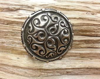 Silver Viking era brooch/pin
