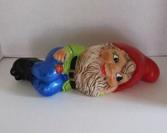 Dreaming  Garden Gnome