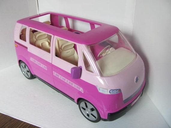 Barbie Mattel Purple Vw Bus Van
