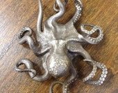Octopus Pendant - smaller version