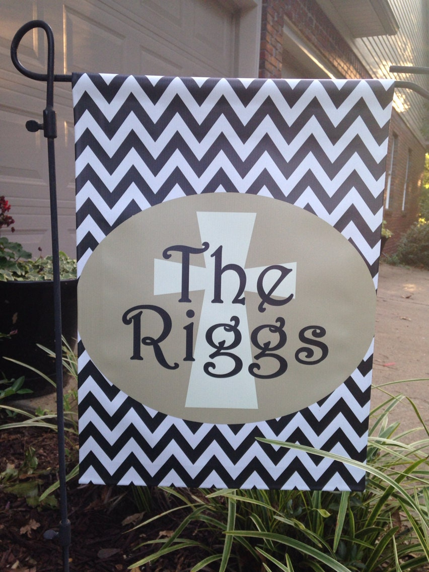 Personalized Monogrammed Garden Flag Design Your Own