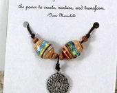 Blooming Lotus Flower Necklace