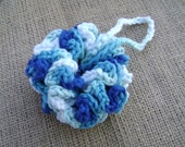 Crochet Spa Scrubby Kitchen Dish Cloth Shower Wash Cloth Cotton Facial Scrubbie Bath Poof Washcloth Dishcloth