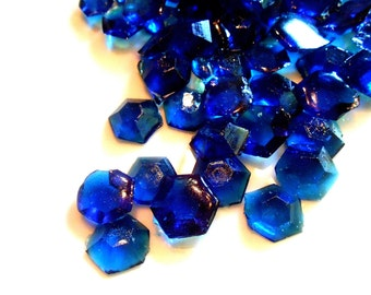 September Birthstones, Sapphires, Edible Birthstones, Candy Gems, Birthday Cake Decoration