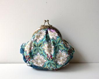 Myanmar Gamaguchi Purse Textile Bag