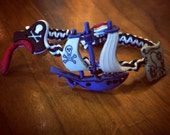 Pirates Button Hemp Bracelet