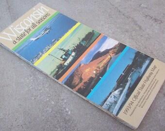 1993-94 Wisconsin Road Map
