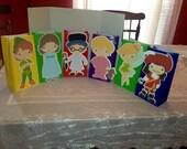 Cute Little Kids Fairy Tale Dress Up Goody Bags