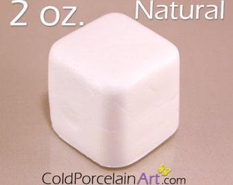 Cold Porcelain Clay 2oz. - Natural - Cold Porcelain Art