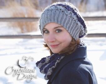 PDF Crochet PATTERN Sierra Slouch Hat