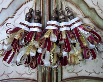 Noel Christmas Tassel Ornament (1)