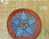Sacred Geometry Crop Circle Patches - Crop Circle Collection (28L)