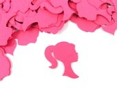 "1"" Barbie Confetti set of 100"