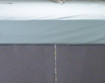 Baby Bedding  / Cream White and Grey  Modern Crib Bedding
