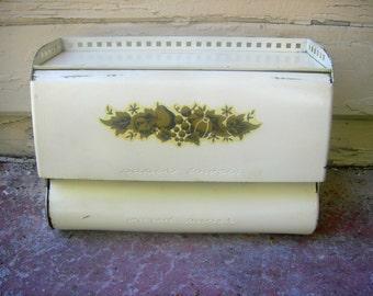 Vintage paper towel wax paper dispenser