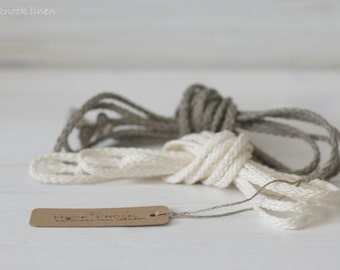 LINEN ROPE BELT set