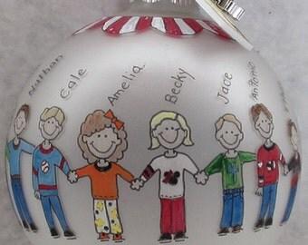 Preschool Personalized Christmas Ornament